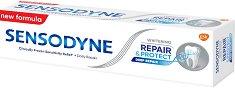 Sensodyne Repair & Protect Whitening - Избелваща паста за чувствителни зъби - душ гел