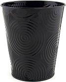 Метални кашпи - Circles black - Kомплект от 6 броя