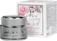 """Подхранващ крем за лице с розово масло - Разфасовки от 20 ÷ 50 ml от серията """"Lady's Joy"""" - продукт"""