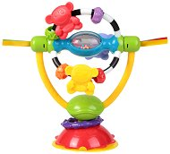 Дрънкалка за столче за хранене - Въртележка - За бебета над 6 месеца -