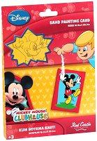 Оцветявай с цветен пясък - Мики Маус - играчка