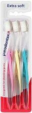 Parodontax Extra Soft Trio Pack - Комплект от 3 броя меки четки за зъби за чувствителни венци - паста за зъби