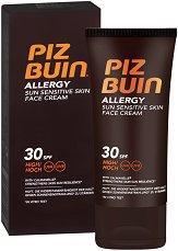 Piz Buin Allergy Sun Sensitive Skin Face Cream - лосион