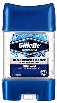 Gillette Endurance Cool Wave Antiperspirant - ластик