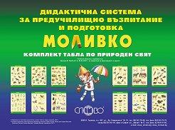 """Моливко: Комплект табла """"Природен свят"""" : За деца в 1., 2., 3. и подготвителна група на детската градина -"""
