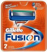 "Gillette Fusion Manual - Резервни ножчета от серията ""Fusion"" - олио"