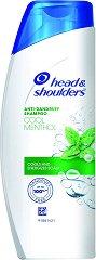 Head & Shoulders Menthol - Освежаващ шампоан против пърхот с ментол - спирала