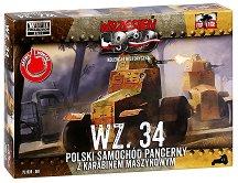 "Полски бронетранспонтьор - WZ.34 - Сглобяем модел от серията ""Септември 1939"" - макет"
