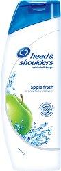 Head & Shoulders Apple Fresh - Шампоан против пърхот с аромат на зелена ябълка -