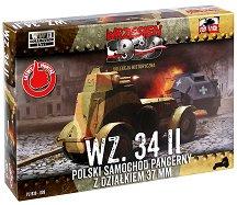 """Полски бронетранспонтьор - WZ.34 II - Сглобяем модел от серията """"Септември 1939"""" - макет"""