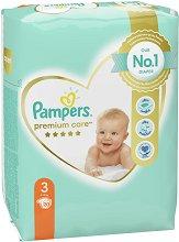 Pampers Premium Care 3 - Midi - Пелени за еднократна употреба за бебета с тегло от 5 до 9 kg -