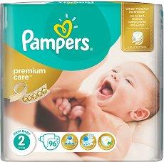 Pampers Premium Care 2 - New Baby - Пелени за еднократна употреба за бебета с тегло от 3 до 6 kg - продукт