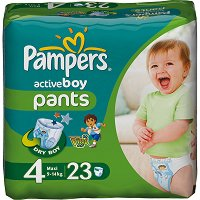 Pampers Active Boy - ������� �� ���������� �������� �� �������� - �������