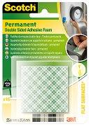 Двойнозалепващи монтажни квадратчета - Комплект от 16 броя