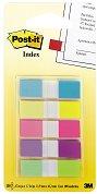 Самозалепващи цветни индекси - Комплект от 5 цвята с размери 1.2 x 4.3 cm