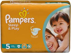 Pampers Sleep & Play - Junior - ������ �� ���������� �������� �� ������ � ����� �� 11 �� 18 kg -