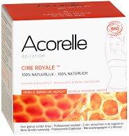 Acorelle Cire Royale - Кола маска без ленти за лице и тяло с пчелен восък и екстракт от бяла лилия - серум