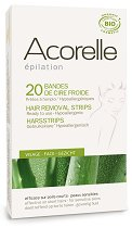 Acorelle Hair Removal Cold Wax Strips - маска