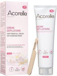 Acorelle Hair Removal Cream - Крем депилатоар за тяло с екстракт от босвелия - продукт