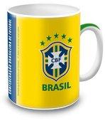 Порцеланова чаша - Бразилски национален отбор по футбол - детски аксесоар