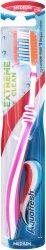 Aquafresh Extreme Clean - Medium - Четка за зъби и език с интердентален профил - четка