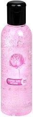 Гел за ръце за сухо измиване с аромат на роза - С 65% спирт, в разфасовки от 85 ÷ 200 ml - тоник