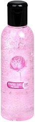 Гел за ръце за сухо измиване с аромат на роза - С 65% спирт, в разфасовки от 85 ÷ 200 ml - мокри кърпички