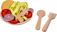 Порция спагети - Дървени играчки -
