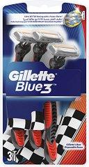 """Gillette Blue 3 Pride - Самобръсначки в опаковки от 3 и 6 броя от серията """"Blue 3"""" -"""