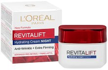 """L`Oreal Revitalift Night Cream - Нощен крем против бръчки от серията """"Revitalift"""" - крем"""