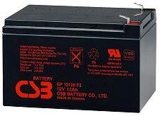 GP 12120 12V / 12Ah - Оловно-кисела батерия за UPS устройства с размери 151 / 98 / 94 mm - батерия