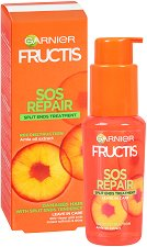 Garnier Fructis Goodbye Damage Serum - Възстановяващ серум за увредена коса и цъфтящи краища - маска