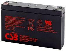 HRL 634 6V / 9Ah - Оловно-кисела батерия за UPS устройства с размери 151 / 34 / 94 mm - батерия