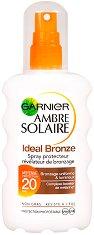 Garnier Ambre Solaire Ideal Bronze - Бронзиращ слънцезащитен спрей - продукт