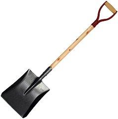 Закалена лопата за въглища - С дръжка