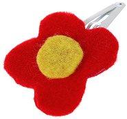 Тик так шнола за коса - Червено цвете -
