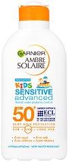 Garnier Ambre Solaire Kids Milk Resisto - Овлажняващо слънцезащитно мляко за деца - крем