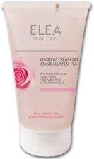 """Измиващ крем-гел с флорална вода от роза - От серията """"Elea Skin Care - Rose"""" - пудра"""