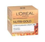 """L`Oreal Nutri-Gold Rich Day Cream - Възстановяващ дневен крем за суха кожа от серията """"Nutri-Gold"""" - крем"""