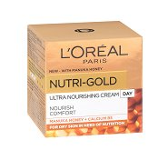 "L`Oreal Nutri-Gold Rich Day Cream - Възстановяващ дневен крем за суха кожа от серията ""Nutri-Gold"" - шампоан"