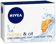 Nivea Honey & Oil Creme Soap - Крем сапун с мед и масло от жожоба - гел
