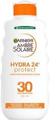 Garnier Ambre Solaire 24 Hydration Protection Lotion - Хидратиращ слънцезащитен лосион за тяло - крем