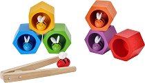 Пчелен кошер - Детска образователна игра за сръчност -
