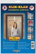 Магнитна мрежа срещу насекоми за врата
