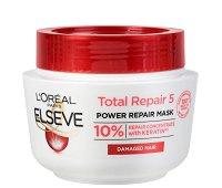 Elseve Total Repair 5 Intensive Repairing Mask - Възстановяваща маска за изтощена коса - шампоан