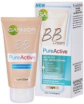 Garnier Pure Active BB Cream -  SPF 15 - Крем против несъвършенства - маска