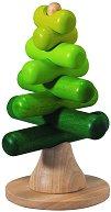 Елхичка - Дървена играчка за нареждане - детски аксесоар