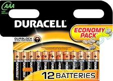 Батерия AAA - Алкална (LR03) - 2, 4, 12 броя - батерия