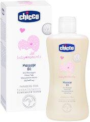 """Подхранващо бебешко масажно олио - От серията """"Chicco Baby Moments"""" -"""