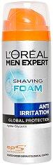 """L'Oreal Men Expert Anti-Irritation Shaving Foam - Пяна за бръснене против раздразнения от серията """"Men Expert"""" - балсам"""